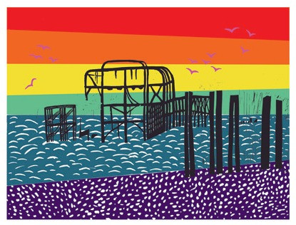 Rainbow West Pier