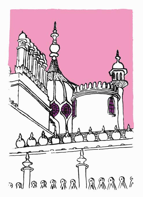 A Brighton Pavilion view