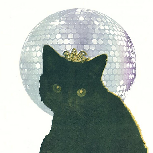 Square Card 'Queen of Disco' by Sarah Goodfellow