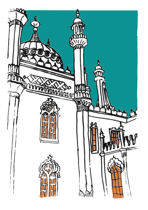 A Brighton Pavilion view