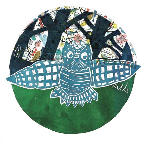 Square Card 'Whooo are you' by Sarah Goodfellow