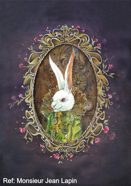 Art Print, Thème: Alice aux pays des merveilles
