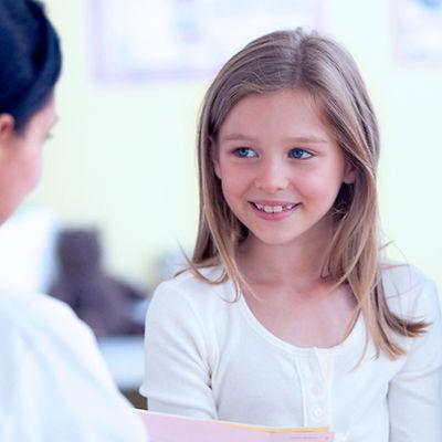 Verpleegster die Girl