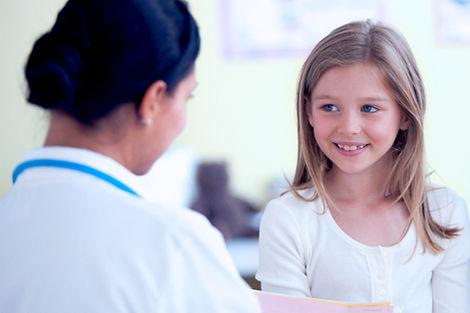 Nurse Checking Girl