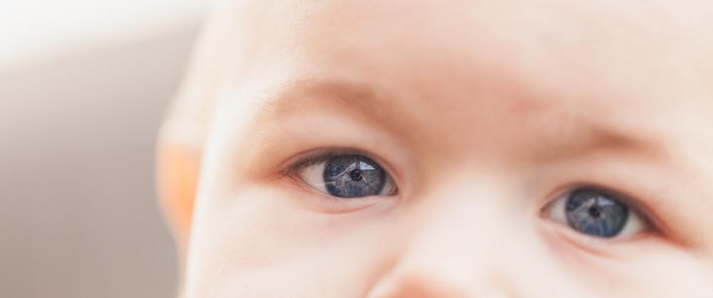 Olhos de bebê