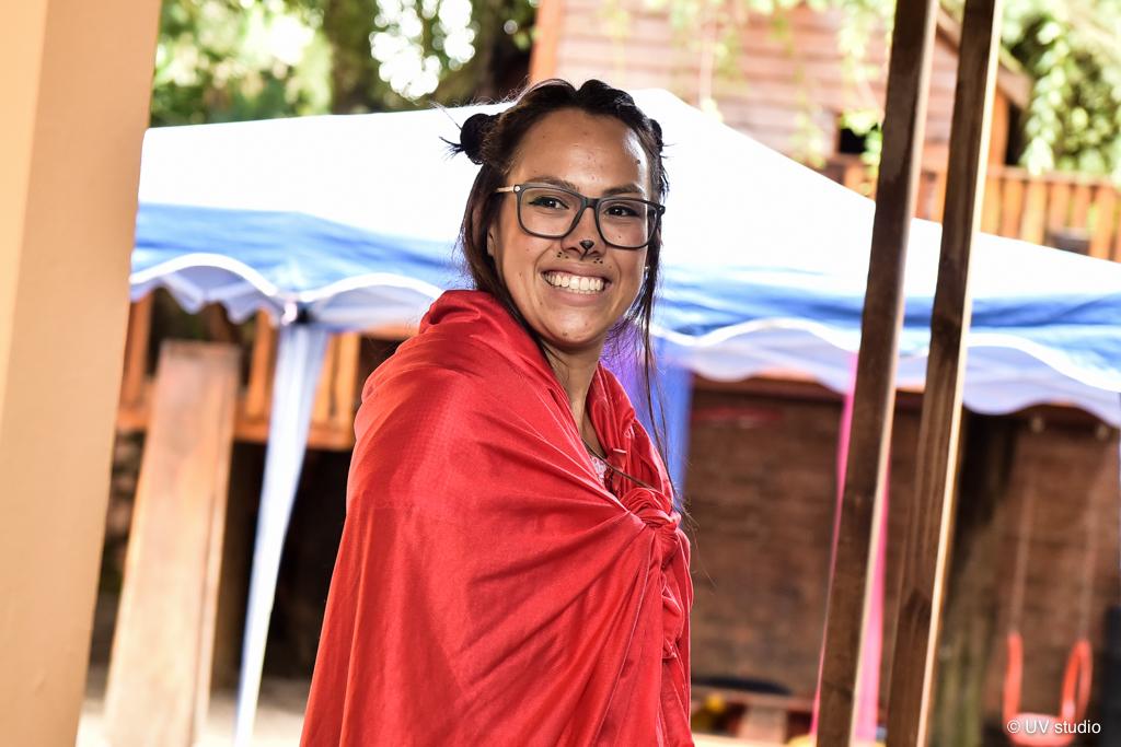 Professora fantasiada -Carnaval 2019