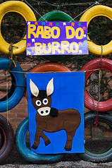 Rabo do burro - Festa junina - Semeador do saber
