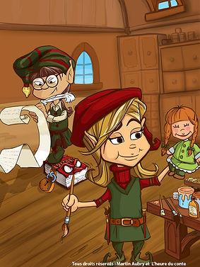 Slush the elf friends