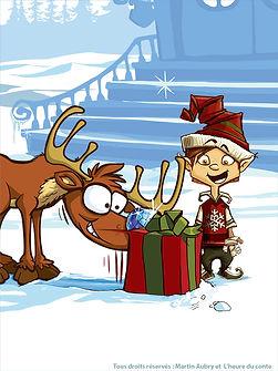 Slush the elf/le lutin