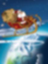 Père Noël au travail- Noël en péril- Illustration Martin Aubry