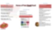 combo and sides menu for digital menu bo