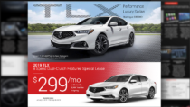 New car landing page