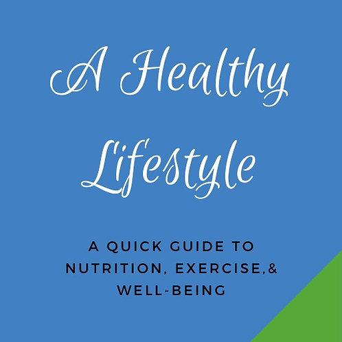 A Healthy Lifestyle E-Book