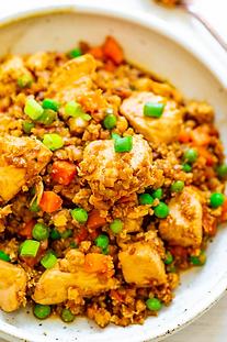 Cauliflower Chicken Stir-Fry