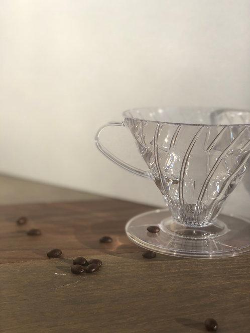 HARIO V60-02 COFFEE DRIPPER - PLASTIC