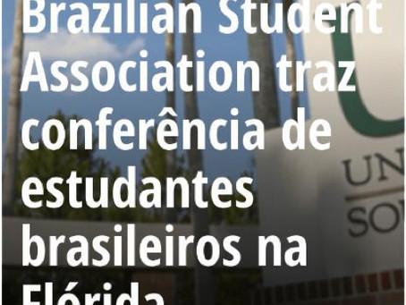 Brazil-Florida Student Conference - coverage by Jornal Nossa Gente