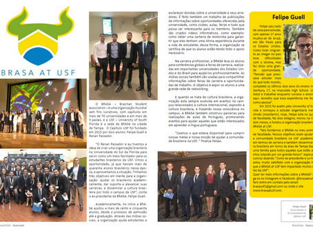 BrazilUSA Suncoast Magazine with Felipe Guell, BRASA at USF Co-Founder