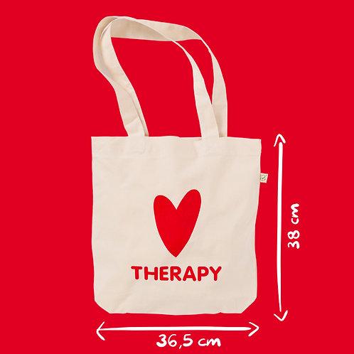 Shopper cotone ecru - Heart Therapy