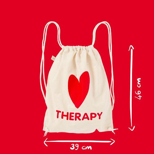 Zainetto cotone ecru - Heart Therapy
