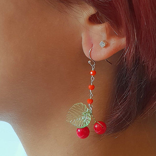 Orecchini Ciliegie/ Cherries Earrings
