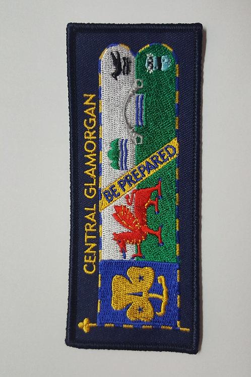 County Standard Cloth Badge
