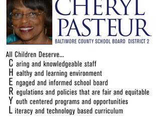 Cheryl Pasteur for Baltimore County School Board