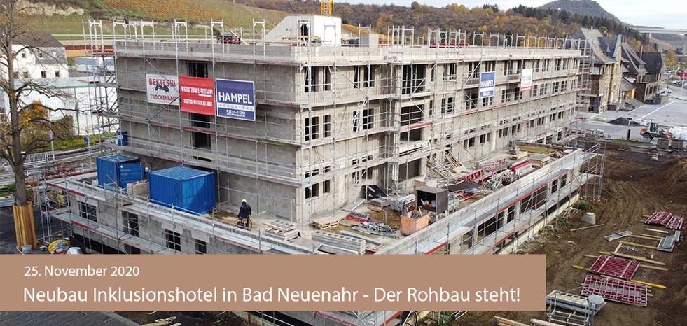 BuM November2020 Inklusionshotel Rohbau