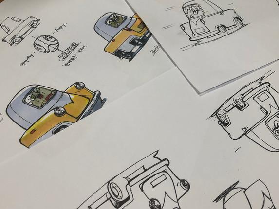 Idea sketch for Janus