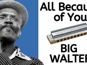All Because of You (Big Walter) - Harmonica Tabs & Lesson