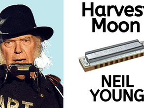 Harvest Moon by Neil Young - Harmonica Lesson & Tabs
