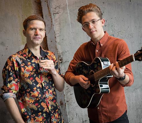 Liam Ward & Malcolm Thorne blues duo