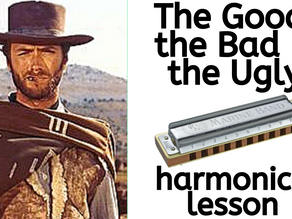 The Good, The Bad & The Ugly - Harmonica Lesson & Tabs