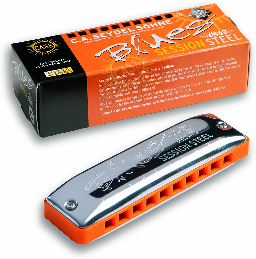 Seydel Blues Session Steel harmonica - low C