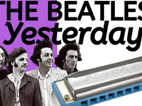 Yesterday by the Beatles - Harmonica Lesson & Tabs