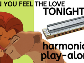 How to play 'Can You Feel the Love Tonight' on harmonica