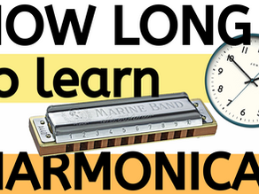 How long does it take to learn harmonica?
