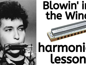 Blowin' in the Wind by Bob Dylan - Harmonica Tabs & Lesson