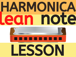 How to play single notes on harmonica (for beginners)