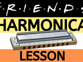 How to play the Friends TV theme on harmonica