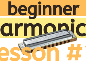 Beginner Harmonica Lesson 1 - Breathing and Tone