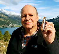 Michael, harmonica player from Switzerland