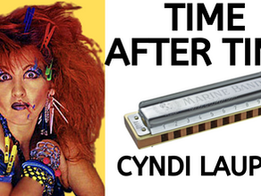 How to play 'Time After Time' by Cyndi Lauper