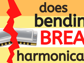 Will bending notes break your harmonica?