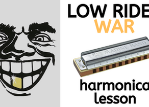 How to play 'Low Rider' by War on a C harmonica