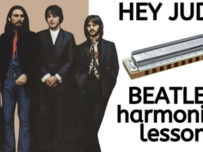 Hey Jude by the Beatles - Harmonica Lesson & Tabs