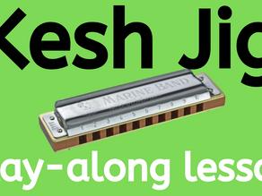 The Kesh Jig - Harmonica Tabs & Lesson