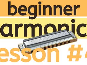 Beginner Harmonica Lesson 4 - Learning Songs