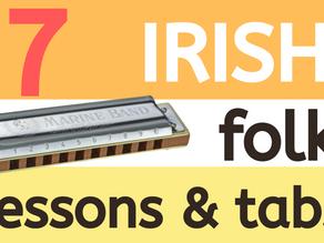 7 top Irish folk harmonica lessons