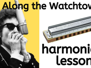 All Along the Watchtower (Bob Dylan) - Harmonica Lesson & Tabs