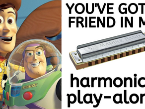 You've Got a Friend in Me (Toy Story) - Harmonica Lesson & Tabs